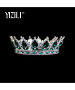 big crown Vintage Style Pageant Beauty Contest Tall Queen King Bride Tia... - $59.00