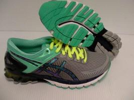 Asics women's running shoes gel kinsei 6 light grey titanium mint size 6... - $118.75