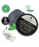 Teal & Terra Mask with Activated Charcoal Bentonite Sandalwood 3in1 Scru... - $26.61