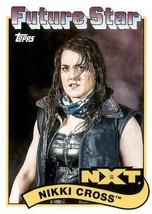 2018 Topps Heritage WWE #105 Nikki Cross - $1.99
