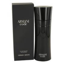Armani Code Cologne By Giorgio Armani 6.7 oz Eau De Toilette Spray For Men - $136.96