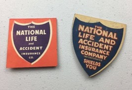 1920s Advertising Pin Holders National Life Insurance Co + Grand Ole Opr... - $17.59