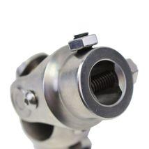 "Forged Stainless Steel Steering Shaft U-JOINT 5/8""-36 SPLINE TO 3/4"" DD Vega Box image 8"