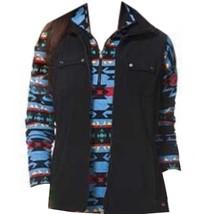 Chaps by Ralph Lauren Misses S Small 4-6 Black Fleece Vest - $39.99