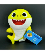 """Pinkfong Baby Shark 8"""" Soft Plush by WowWee - $15.83"""