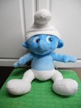 "Build a Bear Plush SMURF Excellent Used Condition Clumsy  17"" Tall - $9.18"