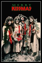 "KISS Band ""MERRY KISSMAS"" Countertop Stand-Up Display - Paul Peter Gene ... - $16.99"