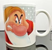 Disney Grumpy Christmas Coffee Mug Cup Have a Grumpy Christmas Snow Gag Gift  - $14.84