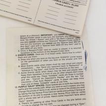 Vintage 1981 Bargain hunter game pieces money pawns cards score pads plasticard - $12.17