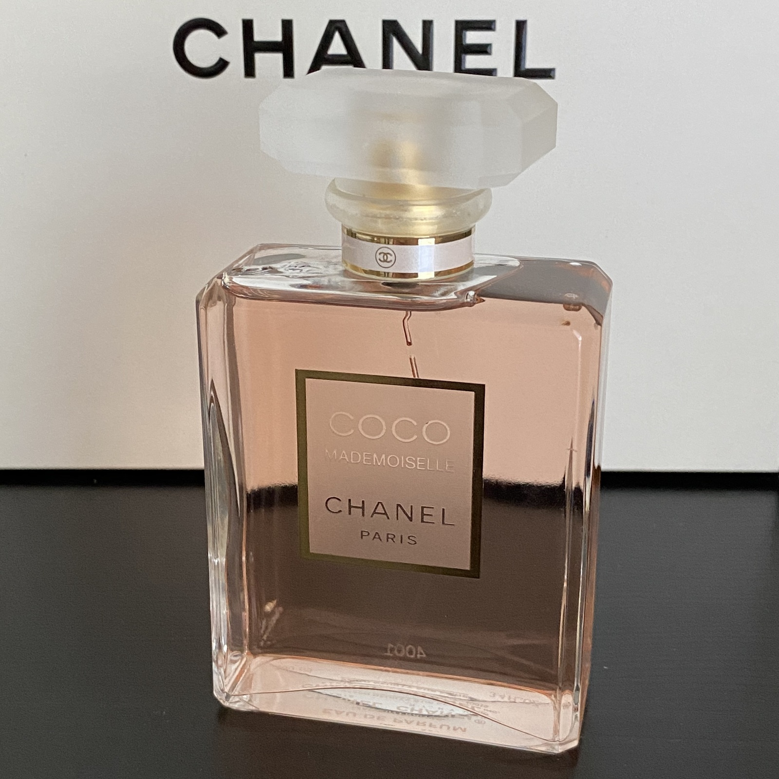 Primary image for Chanel Coco Mademoiselle Eau de Parfum 3.4oz/100ml NEW (no box, batch code 4001)