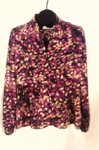 CHADWICK'S WOMEN'S FLORAL TOP SIZE 12 VERY NICE - $9.95