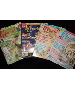 Tole World Magazine Lot of 4 Feb, April, June, and October 2002 Good Con... - $10.46
