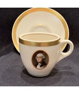 Chesapeake & Ohio Railroad china demitasse cup & saucer George Washingto... - $99.99