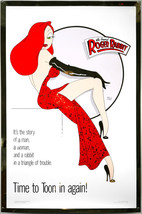 Walt Disney  Who Framed Roger Rabbit Movie Poster  2.5 x 3.5 Fridge Magnet - $3.99
