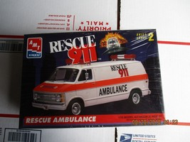 AMT 911 Rescue Ambulance Van 1/25 scale - $49.99