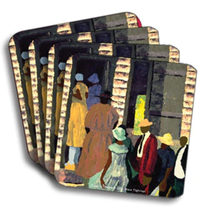 Going To Church Coasters (African American Coasters) - $19.53