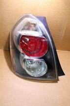 09-10 Pontiac Vibe Quarter Mounted Taillight Lamp Driver Left LH