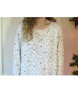 Charter Club Long Sleeve Nightgown Cardinal Birds Brushed Knit Gown L XL XXL NEW - $39.95