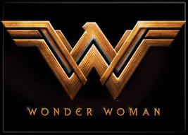 Wonder Woman Movie New WW Logo Image Above Name Refrigerator Magnet NEW ... - $3.99
