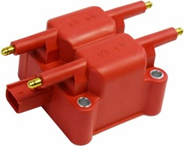 40K Volts High Output Ignition Coil For Mini Cooper, Dodge, Chrysler, Pack Red image 2