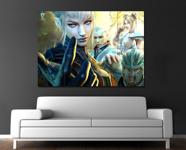 Primary image for Wall Poster Art Giant Picture Print Fantasy Girls 0078PB