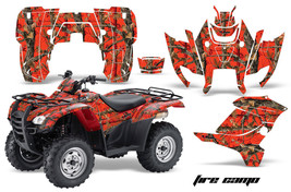 ATV Graphics Kit Decal Sticker Wrap For Honda Rancher AT 2007-2013 FIRECAMO - $168.25