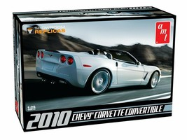 AMT 2010 Chevy Corvette Convertible 1:25 Scale Model Kit AMT-677 New in Box - $24.88