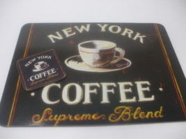 Coffee placemat and coaster new york thumb200
