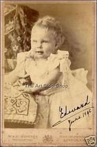 King Edward VIII autograph photo print - $3.85
