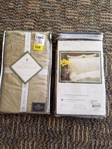 2 Pairs / Pkgs - Waterford Castleroche 330 Thread Count King Pillowcases - $45.20