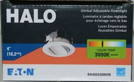 Eaton RA406930WHR HALO Gimbal Adjustable Downlight White 4 Inches image 7