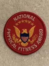 NATIONAL PHYSICAL FITNESS AWARD PATCH  Great condition!!!  3 inches in d... - $2.50
