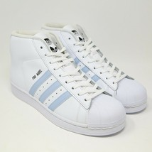 Adidas pro Model Guscio Punta Bianco Facile Blu BW1341 Basket UNC Caroli... - $128.75