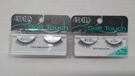 Set of 5: Ardell Soft Lash 161, Black 100% Natural Hair - $14.85