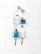 Shower Caddy Storage Hanging Large Basket Shelf Bathroom Organizer Chrom... - $24.30
