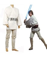 Star Wars A New Hope Luke Skywalker Costume Cosplay  Jedi Suit Tunic Outfit - $82.00+