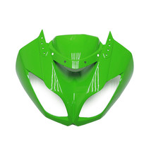 Green Upper Fairing Nose for Kawasaki ZX6R 2009 2010 2011 2012 ZX600R 09... - $198.95