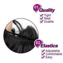 Abujia Messy Bun Hair Piece Hair Bun Extension Wavy Curly Messy Donut Hair Updo  image 5