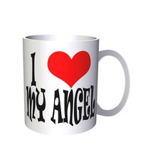 I LOVE My Angel Novelty  11oz Mug q63 - $10.83