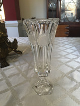 """US Coin glass Vase 8"""" tall 3"""" wide USA - $26.00"""