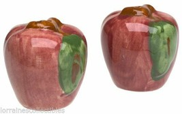 Johnson Brothers Franciscan Apple Salt & Pepper Set NEW IN THE BOX (s) - $24.60