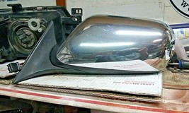 98-03 Jaguar XJ8 Left Driver Side Door Mirror W/ Memory OEM  Chrome - $74.25