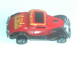 Vintage 1979 Mattel Hot Wheels Ford Hi Raker Rosso Fiamme Rod Car Malesia C8 + - $19.31