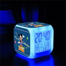 Mickey Mouse Movie #04 Led Alarm Clock Figures LED Alarm Clock - $25.00