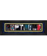 Portland Community College Officially Licensed Framed Campus Letter Art - $39.95