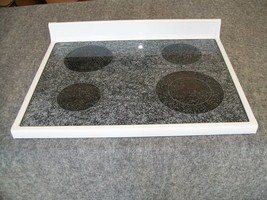 31721505WW Amana Range Oven Main Top Glass Cooktop White - $110.00