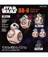 Star Wars BB-8 Alarm Clock Voice Actions Rhythm Watch From Japan New - €126,28 EUR