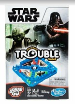 NEW SEALED 2018 Hasbro Star Wars Pop o Matic Grab and Go Trouble Board Game - $13.99