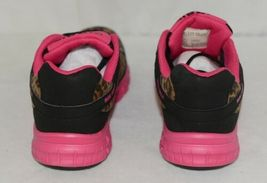 Crazy Train RUNWILD14 Black Pink Cheetah Sneakers Size 9 image 4