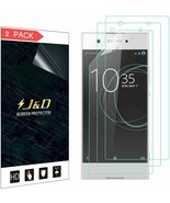 J&D Compatible for Sony Xperia XA1 HD Screen Protector (2-Pk), Not Full ... - $4.95